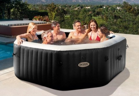 Jacuzzi dmuchane 218cm 6 osób Jet & Bubble Deluxe INTEX