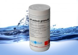 Ph minus do basenu granulat 1,5 kg Bassau