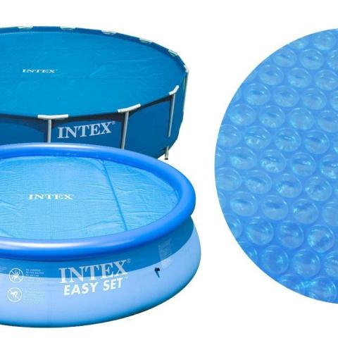 Pokrywa solarna na basen 366 cm INTEX