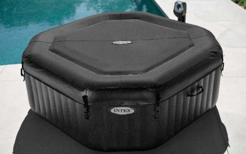Jacuzzi dmuchane 201cm 4 osoby Jet & Bubble Deluxe INTEX