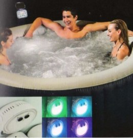 Lampa led multikolor na baterie do jacuzzi spa Int