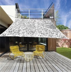 żagiel Ogrodowy Przeciwsłoneczny Z Otworami Kwadrat 2 X 3 M Biały Ceny I Opinie W Sklepie Dobrebaseny Pl
