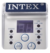 display Intex Zoutwatersysteem