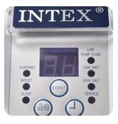 display Intex Zoutwatersysteem